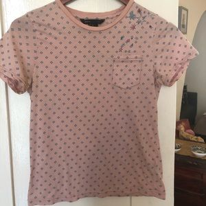 Pink Marc Jacobs Stargazer T Shirt